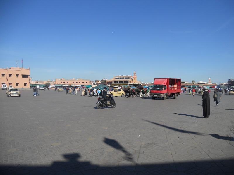 Marrakesz. Na Jemma El Fna trzeba pójść wieczorem
