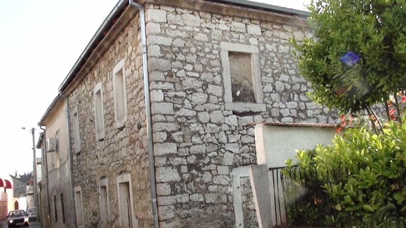 Podgorica. Dawne domki w dzielnicy Stara Varoš
