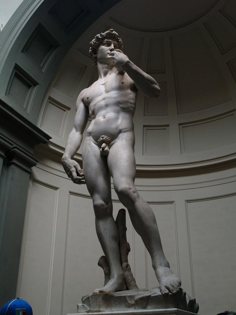 Florencja. Dawid w Galerii Akademia