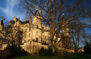 Schwerin Bajkowy zamek na wyspie