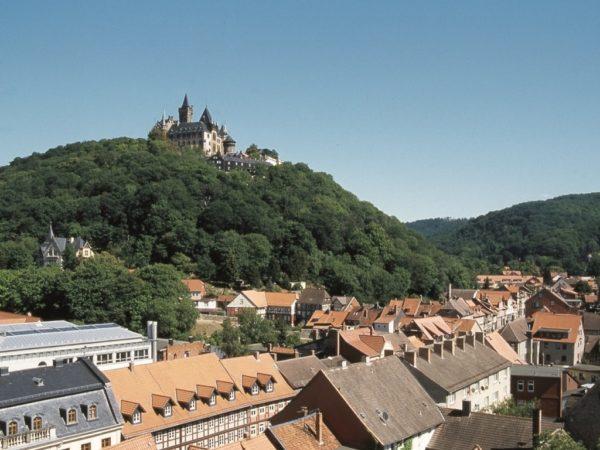 Wernigerode . Zamek niemieckiego wicekanclerza