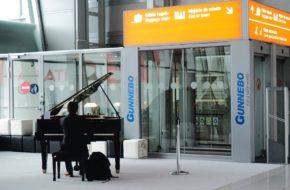 Warszawa Muzyka Chopina na lotnisku Chopina