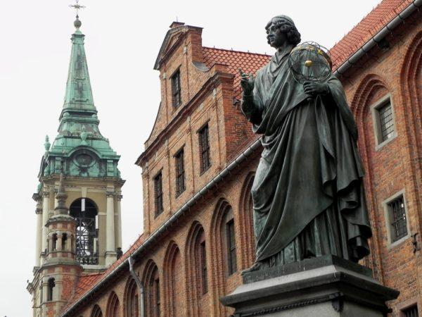 Toruń. Pomnik Mikołaja Kopernika