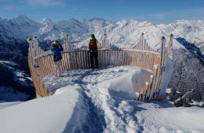 Alpy Berneńskie Królewską ścieżką na Männlichen