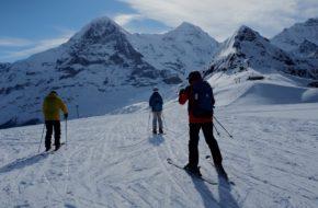 Wengen Na nartach pod ścianą Eigeru