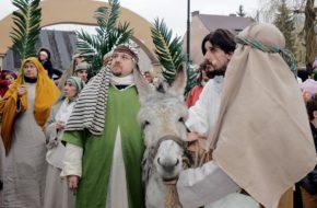 Góra Kalwaria Chrystus wjechał do Jerozolimy