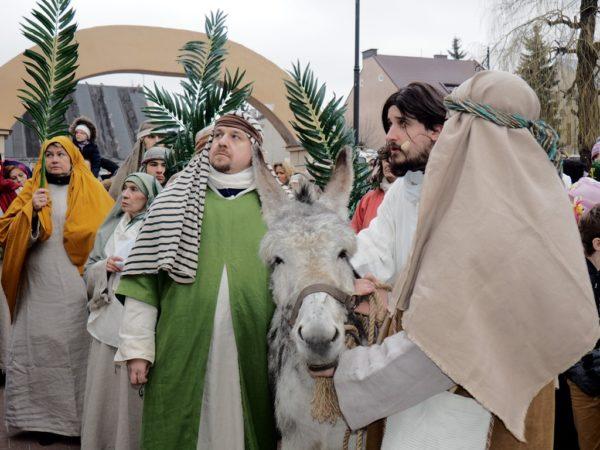 Góra Kalwaria. Chrystus wjechał do Jerozolimy