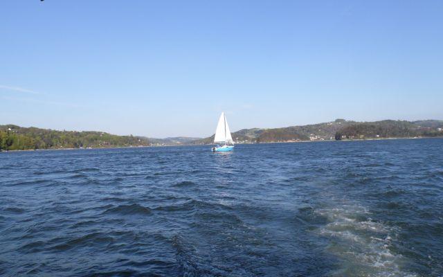 Jezioro Rożnowskie. Rejs po urodziwym zalewie Sądecczyzny