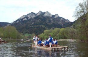 Pieniny Uroczysty spływ Dunajcem