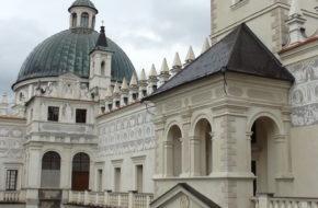Krasiczyn Renesansowy zamek Krasickich