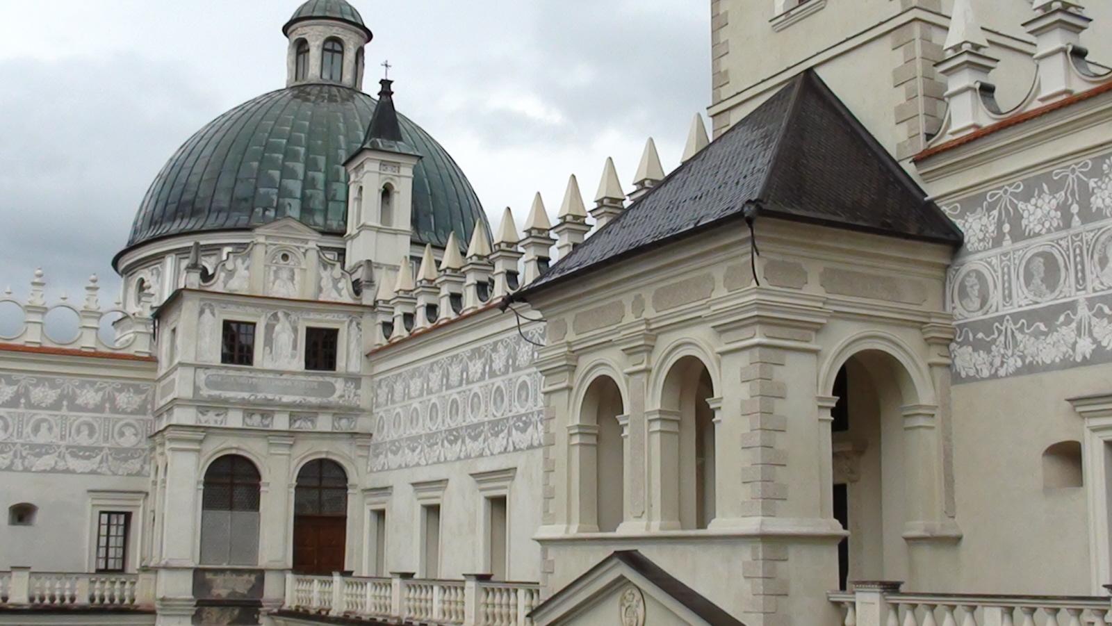 Krasiczyn. Renesansowy zamek Krasickich