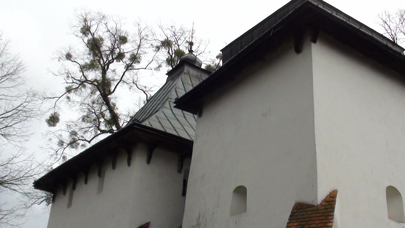 Posada Rybotycka. Obronna cerkiew św. Onufrego