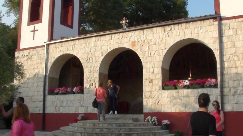 Podgorica. Dajbaba, monastyr na przedmieściach