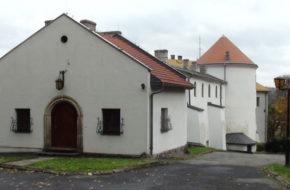Lesko Zamek Kmitów mieści dziś pensjonat
