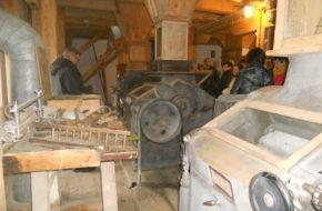 Ustrzyki Dolne Muzeum Młynarstwa w starym młynie