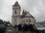 Lesko. Synagoga w strugach deszczu?