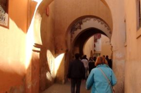 Marrakesz Medyna za murami i meczet Kutubija