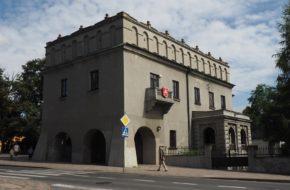 Opoczno Na miejscu zamku króla Kazimierza
