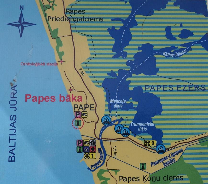Pape. Pierwsze spotkanie z łotewską przyrodą