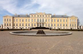 Rund?le Pałac kurlandzkiego magnata