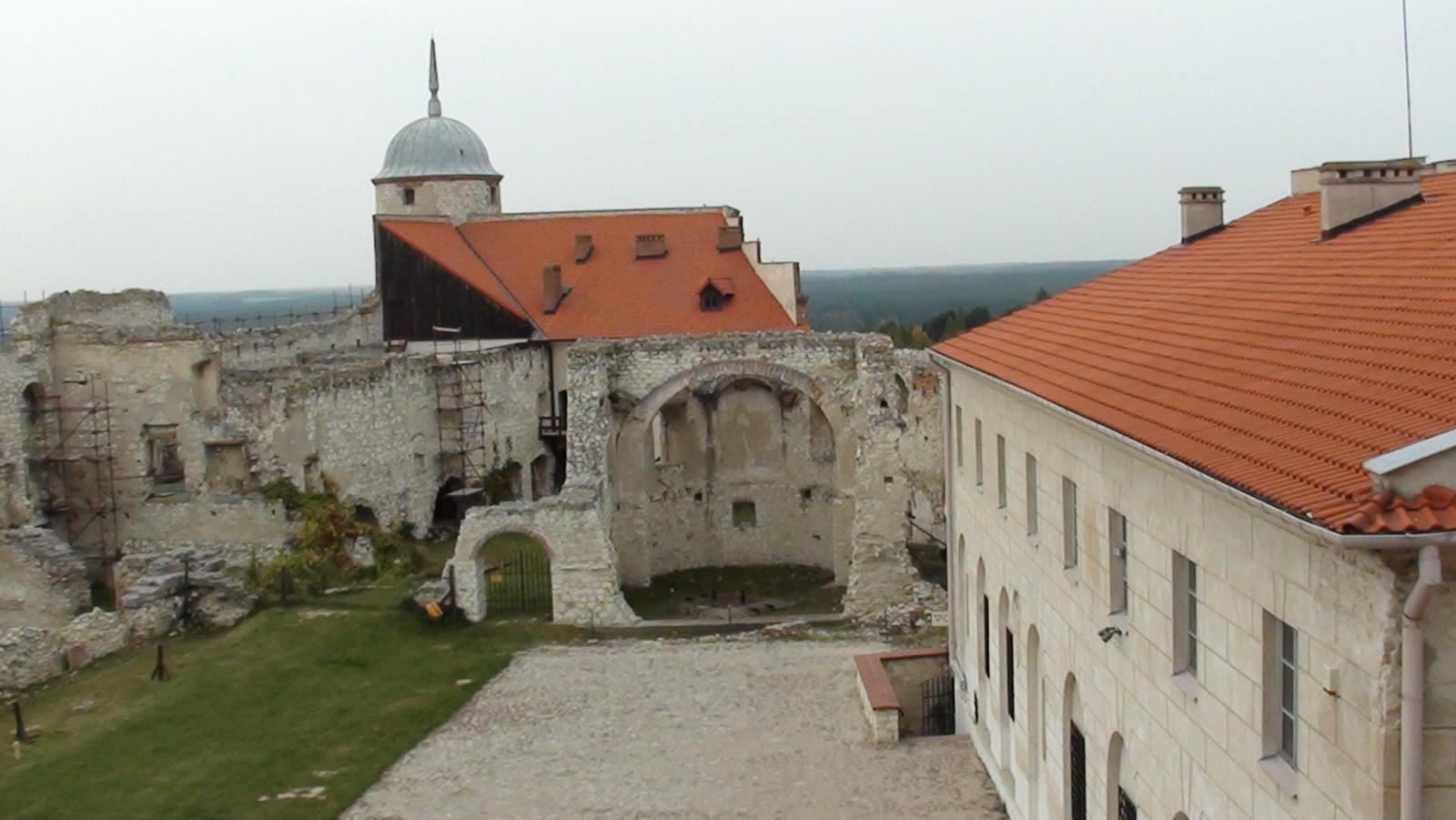 Janowiec. Ruiny zamku nad Wisłą