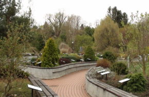 Bolestraszyce Arboretum wokół fortu i pałacu