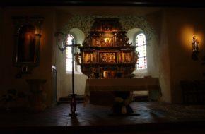 Barnimie Gotycki kościółek na kajakowym szlaku