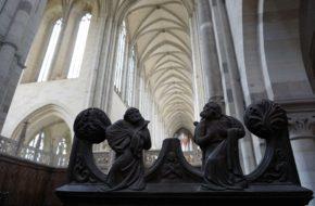 Magdeburg Katedra z uśmiechniętym aniołem