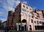 Magdeburg. Różowa Zielona Cytadela