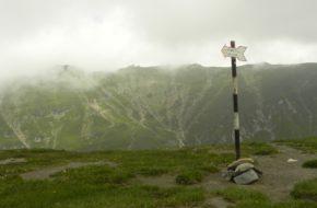 Bucegi Schronisko Omu, najwyżej w Karpatach