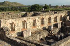 Stobi Ruiny starożytnego miasta