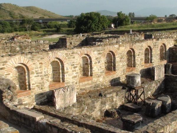 Stobi. Ruiny starożytnego miasta