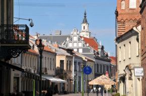Kowno Przez stare miasto, śladem Mickiewicza