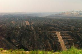 Welzow Spojrzenie na kopalnię węgla brunatnego