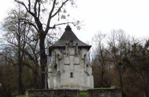 Posada Rybotycka Obronna cerkiew św. Onufrego