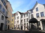 Tallinn. Na dolnym starym mieście