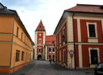 Ostrov. W historycznym jądrze starego miasta