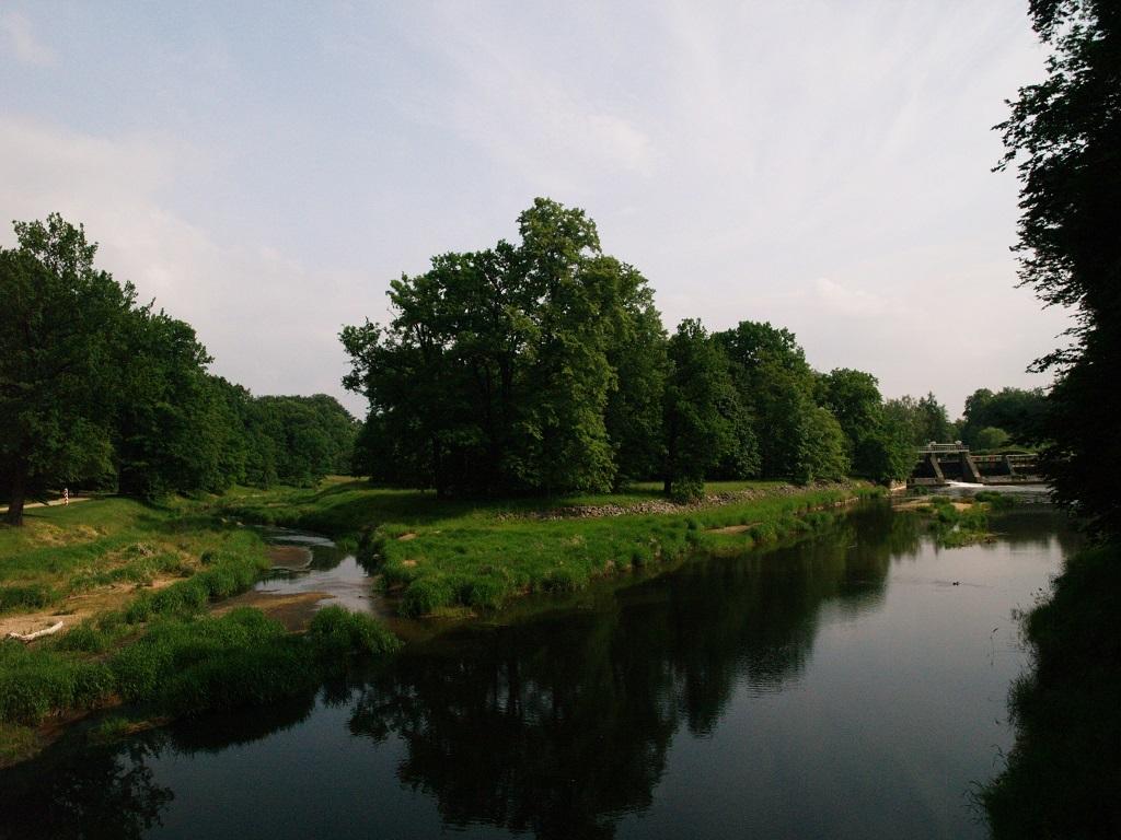 Bad Muskau. Park Mużakowski po niemieckiej stronie