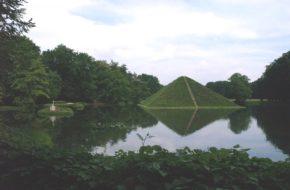 Branitz Park z piramidą, dzieło księcia ogrodnika