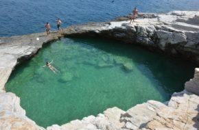 Thassos Bardzo grecka wyspa