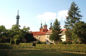 Praga Atrakcje wzgórza Petrzyn