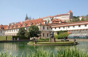 Praga Ogrody Wallensteina