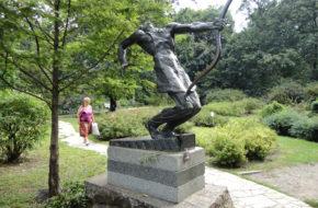 Kijów Uniwersytecki ogród botaniczny
