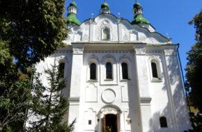 Kijów Cerkiew św. Cyryla na Dorohożyczach
