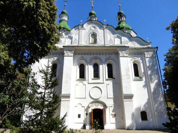Kijów. Cerkiew św. Cyryla na Dorohożyczach