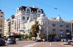 Kijów Nie oszczędzili nawet Chreszczatyku