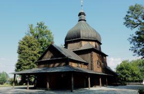 Leszno Cerkiew we wsi zwanej kiedyś Poździacz