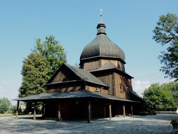 Leszno. Cerkiew we wsi zwanej kiedyś Poździacz