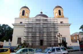Kijów Katolicka katedra św. Aleksandra
