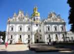 Kijów. Na wielkiej dzwonnicy Pieczerskiej Ławry